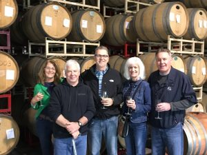 The best tour with Mike the owner of Taft Street Winery